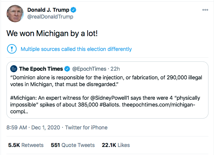 Screen-Shot-2020-12-01-at-9.11.40-AM Trump Hatches Plan To Call Off Georgia Special Election Conspiracy Theory Donald Trump Election 2020 Featured Politics Top Stories Twitter