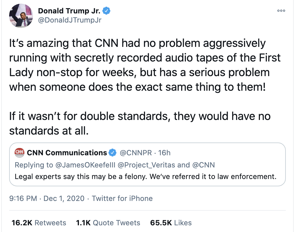 Screen-Shot-2020-12-02-at-8.48.28-AM Don Jr. Melts Down Like A Maniac After Day Of Horrible News Conspiracy Theory Fact-Checker Featured Politics Top Stories