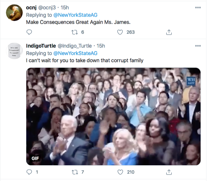Screen-Shot-2020-12-03-at-10.04.57-AM Letitia James Tweets Directly To Trump Like His Future Worst Enemy Conspiracy Theory Donald Trump Election 2020 Featured Politics Top Stories Twitter