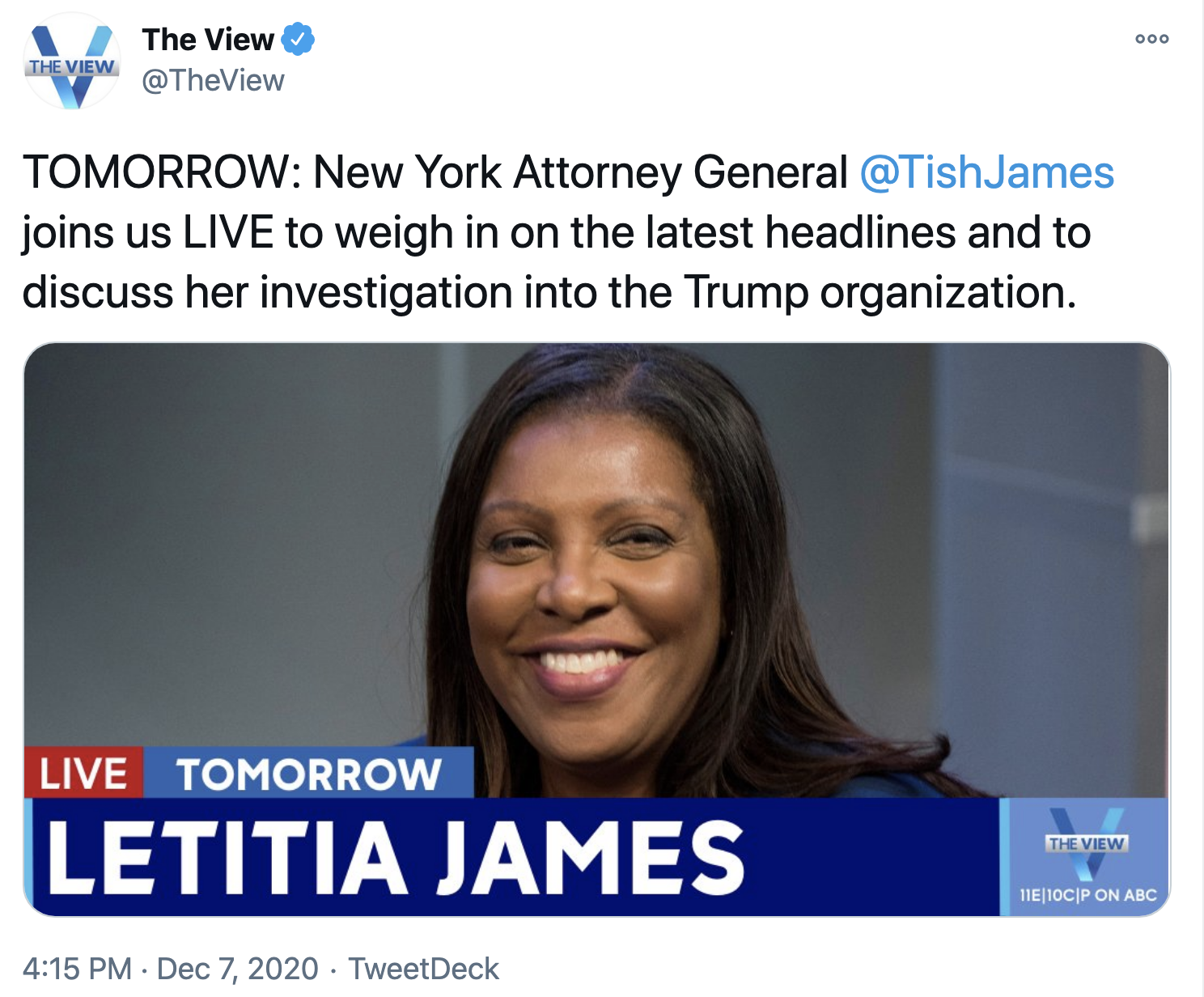 Screen-Shot-2020-12-08-at-12.07.35-PM N.Y. Attorney General Alarms Trump Family With Investigation Declaration Corruption Crime Featured Politics Top Stories