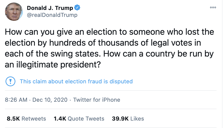 Screen-Shot-2020-12-10-at-8.45.44-AM Trump Yells At SCOTUS During Delirious Early Morning Tweet Frenzy Corruption Crime Featured Politics Top Stories