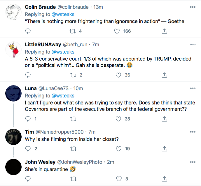 Screen-Shot-2020-12-11-at-8.43.38-PM Trump Legal Team Responds To SCOTUS Defeat Like Maniacs Conspiracy Theory Donald Trump Election 2020 Featured Politics Top Stories Twitter Videos