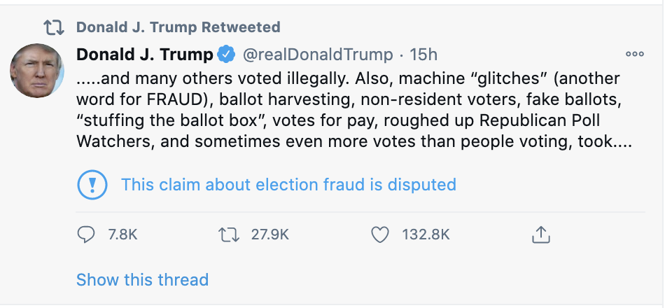Screen-Shot-2020-12-14-at-8.46.10-AM-1 Trump Announces Swing State Conspiracy That Hands Him Victory Corruption Crime Featured Politics Top Stories