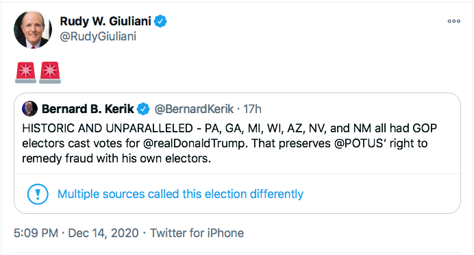 Screen-Shot-2020-12-15-at-10.19.49-AM Trump's Lawyers Have Mental Episodes After Electoral Vote Conspiracy Theory Donald Trump Election 2020 Featured Politics Top Stories Twitter
