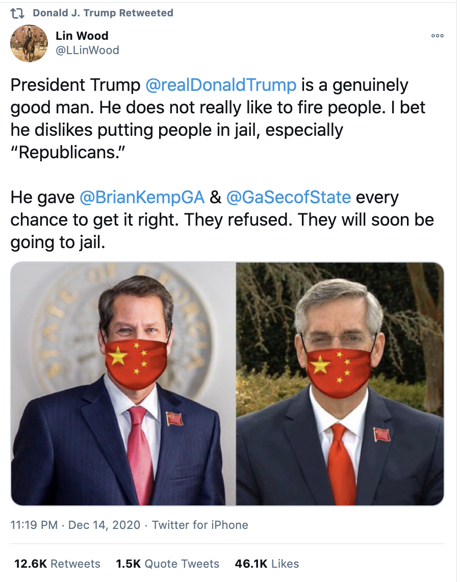 Screen-Shot-2020-12-15-at-8.39.01-AM Trump Declares Jail For GA Governor During Pre-Dawn Emotional Collapse Corruption Domestic Policy Featured Politics Top Stories