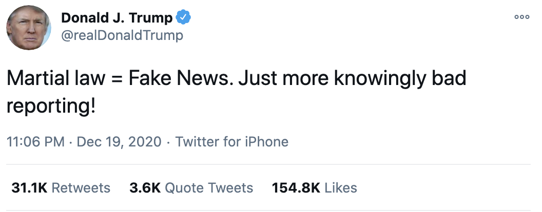 Screen-Shot-2020-12-20-at-8.34.34-AM Trump Tweets Deranged Sunday Response To Martial Law Story Corruption Crime Featured Politics Top Stories