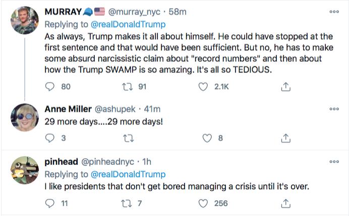 Screen-Shot-2020-12-22-at-10.43.13-AM Trump Tweets Delirious Tuesday COVID Propaganda Message Coronavirus Donald Trump Featured Politics Top Stories Twitter