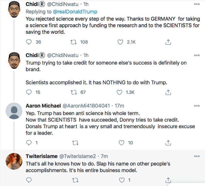 Screen-Shot-2020-12-22-at-10.43.38-AM Trump Tweets Delirious Tuesday COVID Propaganda Message Coronavirus Donald Trump Featured Politics Top Stories Twitter