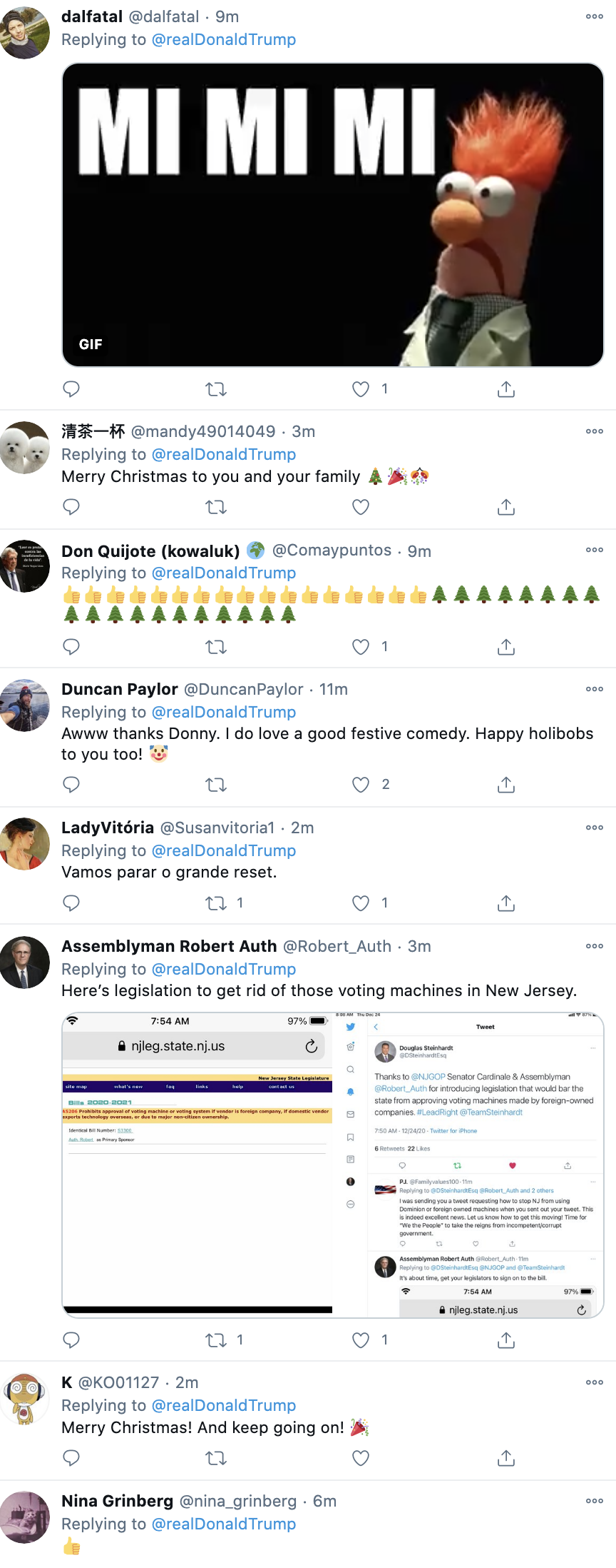 Screen-Shot-2020-12-24-at-7.38.53-AM Trump 'Proves' Election Fraud In Deranged Christmas Eve Video Corruption Crime Featured Politics Top Stories