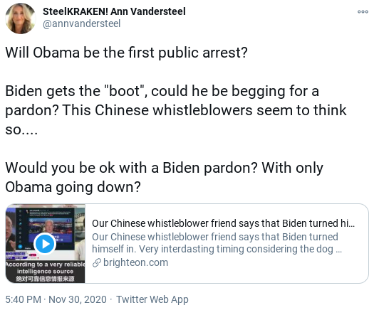 Screenshot-2020-12-02-at-12.42.14-PM Desperate Trump Supporters Claim That Obama Was Arrested Donald Trump Politics Social Media Top Stories
