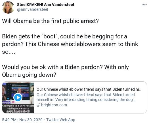 Screenshot-2020-12-02-at-12.42.14-PM Desperate Trump Supporters Claim That Obama Was Arrested Donald Trump Politics Social Media Top Stories