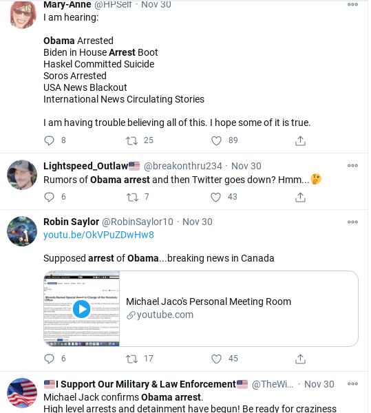 Screenshot-2020-12-02-at-12.45.17-PM Desperate Trump Supporters Claim That Obama Was Arrested Donald Trump Politics Social Media Top Stories