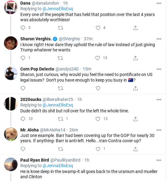 Screenshot-2020-12-21-at-2.51.38-PM Jenna Ellis Suffers Major Public Meltdown After Barr Rebuffs Trump Demands Corruption Donald Trump Election 2020 Politics Social Media Top Stories