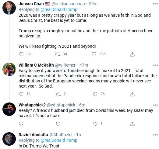 Screenshot-2020-12-31-at-3.06.12-PM Trump Issues Nonsensical New Years Eve Rant Coronavirus Donald Trump Politics Social Media Top Stories