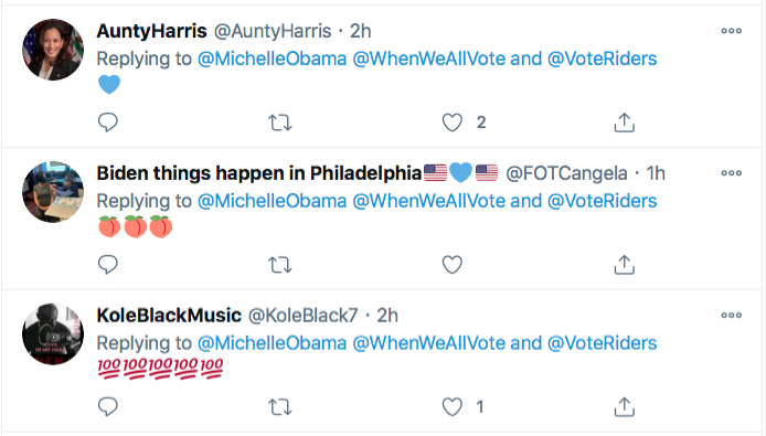 Screen-Shot-2021-01-02-at-8.47.36-PM Michelle Obama Makes Weekend Move To Flip Georgia Blue Election 2020 Featured Politics Top Stories Twitter