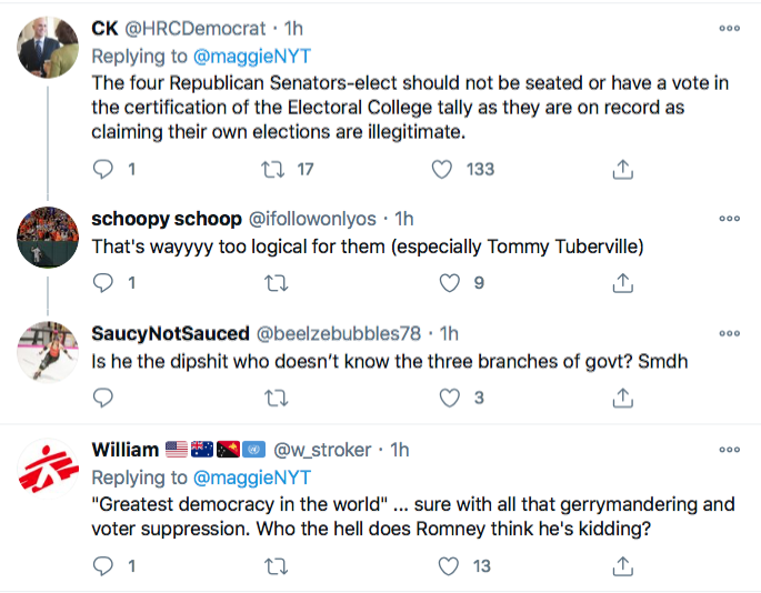 Screen-Shot-2021-01-02-at-9.27.13-PM Mitt Romney Roasts The 'Egregious' 11-GOP Traitors Conspiracy Theory Donald Trump Election 2020 Featured Politics Top Stories Twitter