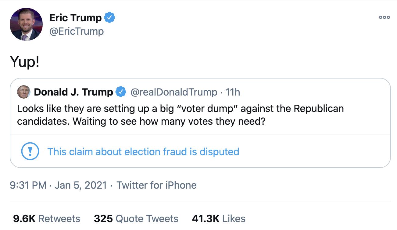 Screen-Shot-2021-01-06-at-8.44.50-AM Eric Trump Has Emotional Meltdown Over GA Election Loss Corruption Crime Donald Trump Politics Top Stories