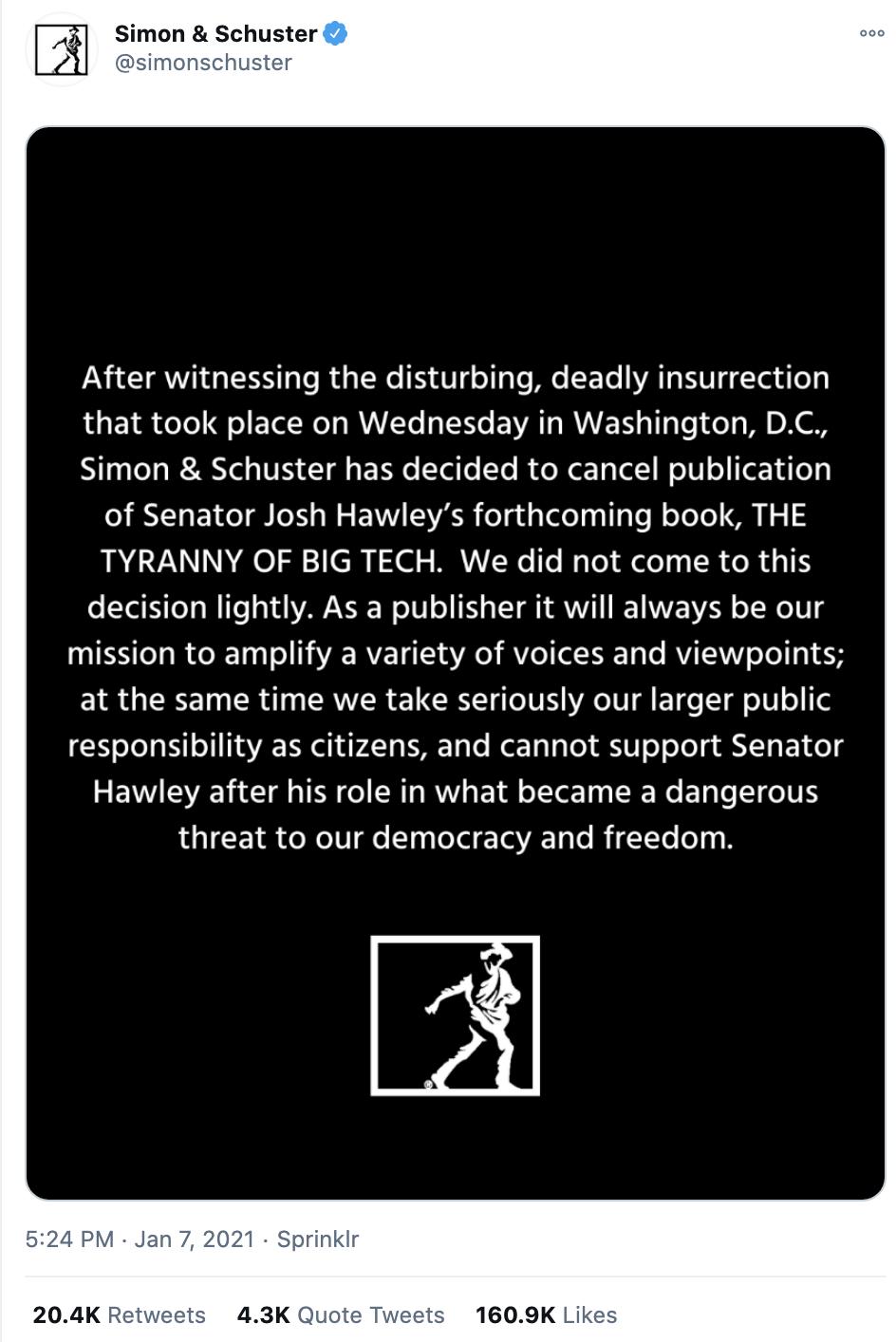 Screen-Shot-2021-01-08-at-10.29.32-AM Josh Hawley Has Child-Like Public Meltdown Over MAGA Riot Backlash Corruption Crime Featured Politics Top Stories