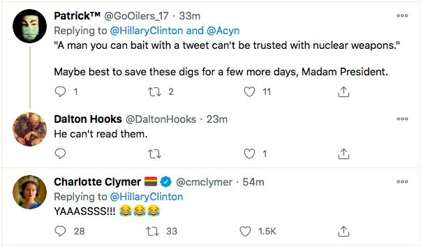 Screen-Shot-2021-01-08-at-9.51.47-PM Hillary Clinton Master-Trolls Trump Over His Twitter Ban Donald Trump Featured Hillary Clinton Politics Top Stories Twitter