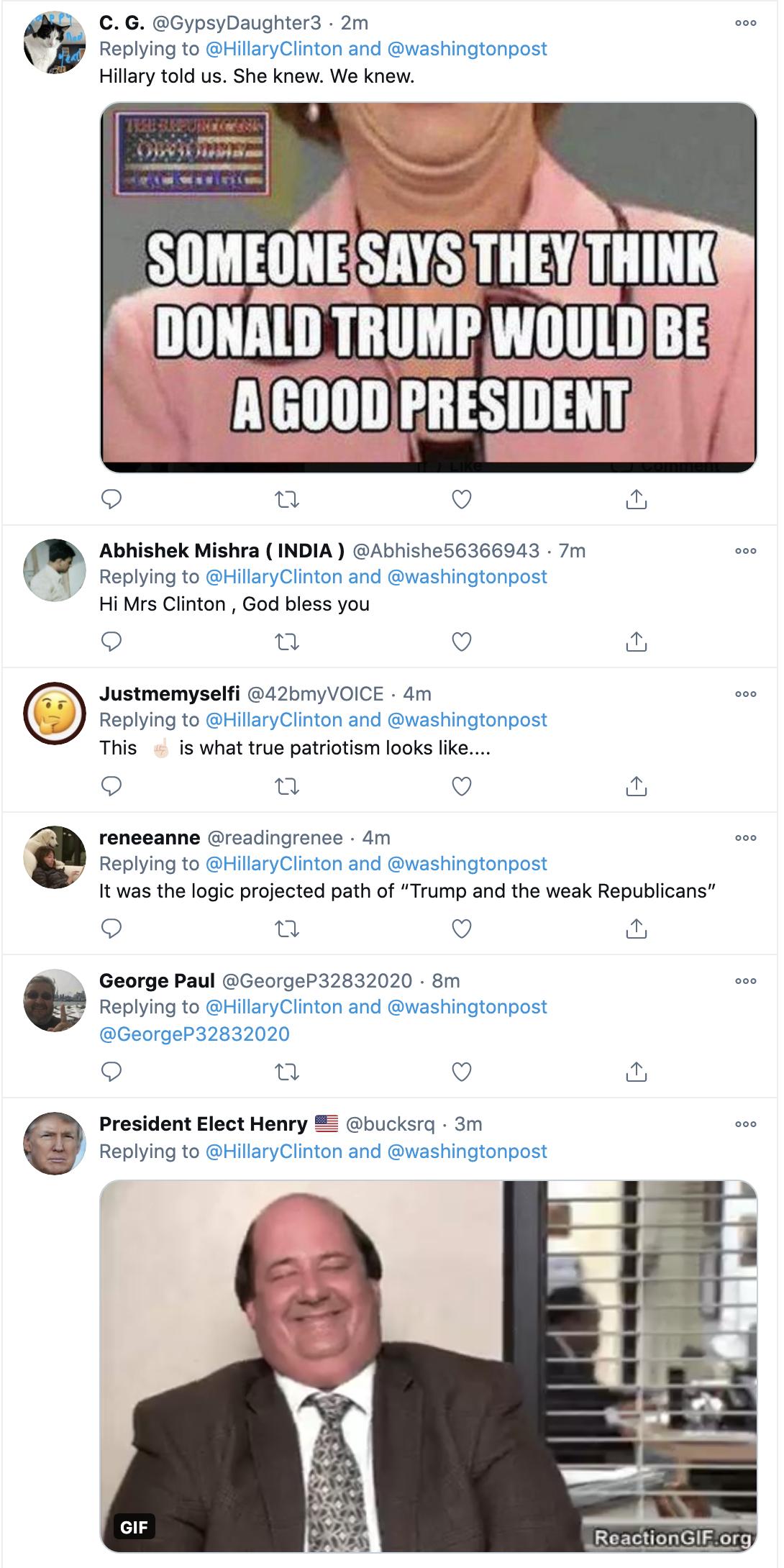 Screen-Shot-2021-01-11-at-10.25.15-AM Hillary Pens Monday Op-Ed Shaming Trump & His GOP Traitors Donald Trump Featured Hillary Clinton Politics Top Stories