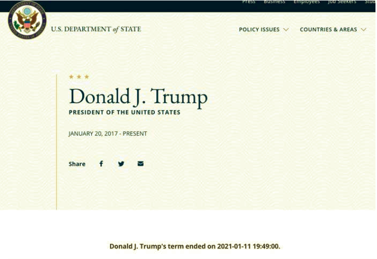Screen-Shot-2021-01-11-at-6.30.52-PM Rogue Employee Changes Official Gov't Website To Troll Trump Featured National Security Politics Top Stories