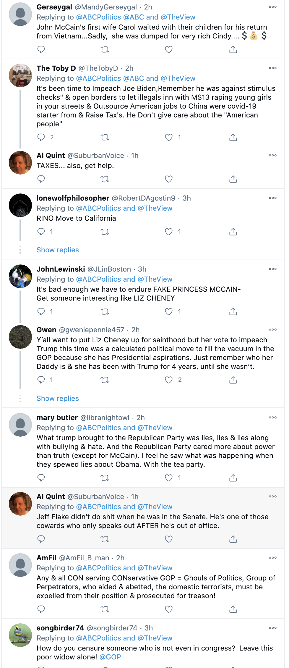 Screen-Shot-2021-01-14-at-2.06.55-PM Cindy McCain Clowns On Republicans For Censuring Her Donald Trump Featured Feminism Politics Top Stories