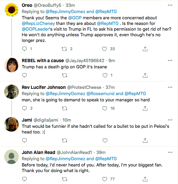 Screen-Shot-2021-01-27-at-8.42.16-PM Resolution To Expel QAnon Crazy Marjorie Taylor Greene Announced Alt-Right Featured Politics Top Stories