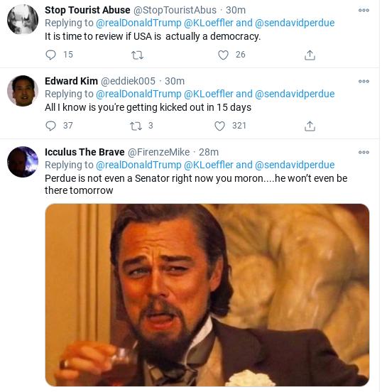 Screenshot-2021-01-05-at-10.22.05-AM Trump Has Election-Morning Mental Episode Over Georgia Runoff Corruption Donald Trump Election 2020 Politics Social Media Top Stories