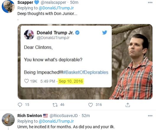 Screenshot-2021-01-14-at-4.11.24-PM Trump Jr. Has Delirious Hissy-Fit Over Dad's Impeachment Donald Trump Politics Top Stories