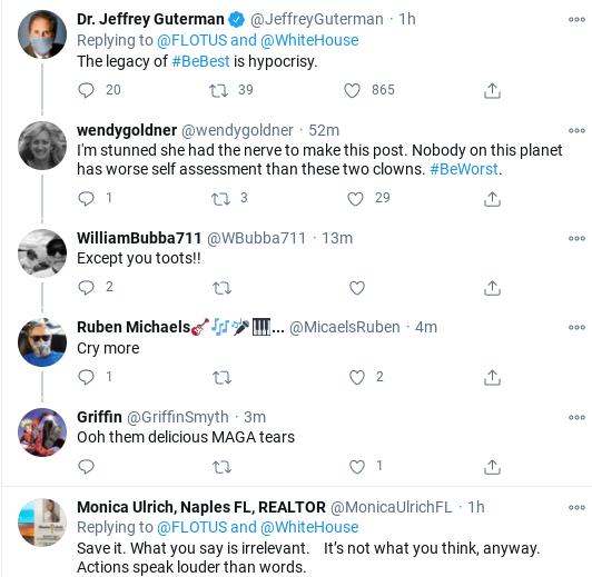 Screenshot-2021-01-15-at-10.15.19-AM Melania Trump Posts Embarrassing Twitter Message Before W.H. Departure Donald Trump Politics Social Media Top Stories