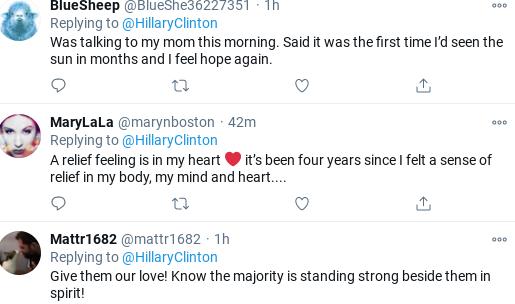 Screenshot-2021-01-20-at-10.29.19-AM Hillary Forgets Trump & Moves Forward With Message To Biden Donald Trump Politics Social Media Top Stories