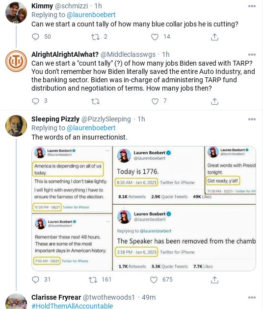 Screenshot-2021-01-21-at-11.32.25-AM Lauren Boebert's First Week Becomes Embarrassing Disaster Politics Social Media Top Stories