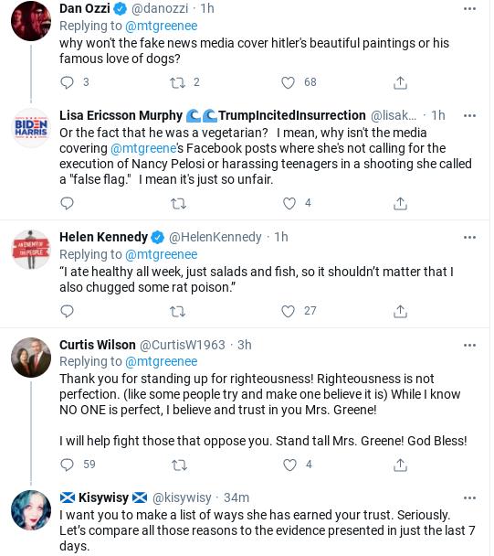 Screenshot-2021-01-28-at-2.35.17-PM Qanon Crazy Rep. Greene Has Unhinged Wednesday Meltdown Donald Trump Politics Social Media Top Stories