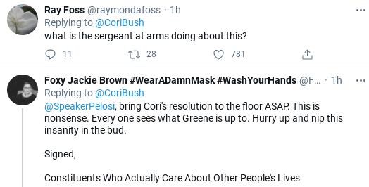 Screenshot-2021-01-29-at-1.43.26-PM Marjorie Taylor Greene Verbally Assaults  Black Rep In Capitol Hallway Donald Trump Politics Social Media Top Stories