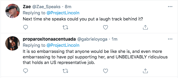 Screen-Shot-2021-02-03-at-9.45.48-PM 'The Lincoln Project' Piles On Marjorie Taylor Greene With Video Take-Down Conspiracy Theory Donald Trump Featured Politics Top Stories Twitter