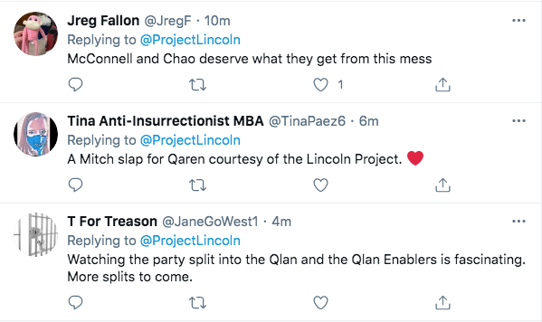 Screen-Shot-2021-02-03-at-9.46.57-PM 'The Lincoln Project' Piles On Marjorie Taylor Greene With Video Take-Down Conspiracy Theory Donald Trump Featured Politics Top Stories Twitter