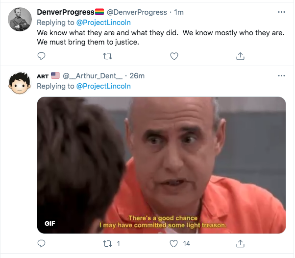 Screen-Shot-2021-02-06-at-10.27.58-AM 'The Lincoln Project' Strikes Again To Roast The GOP Traitors Conspiracy Theory Donald Trump Featured Politics Top Stories Twitter Videos