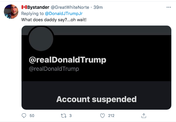 Screen-Shot-2021-02-07-at-7.21.19-PM Trump Jr. Has Childish Hissy-Fit Over The Super Bowl Donald Trump Politics Racism Top Stories Twitter