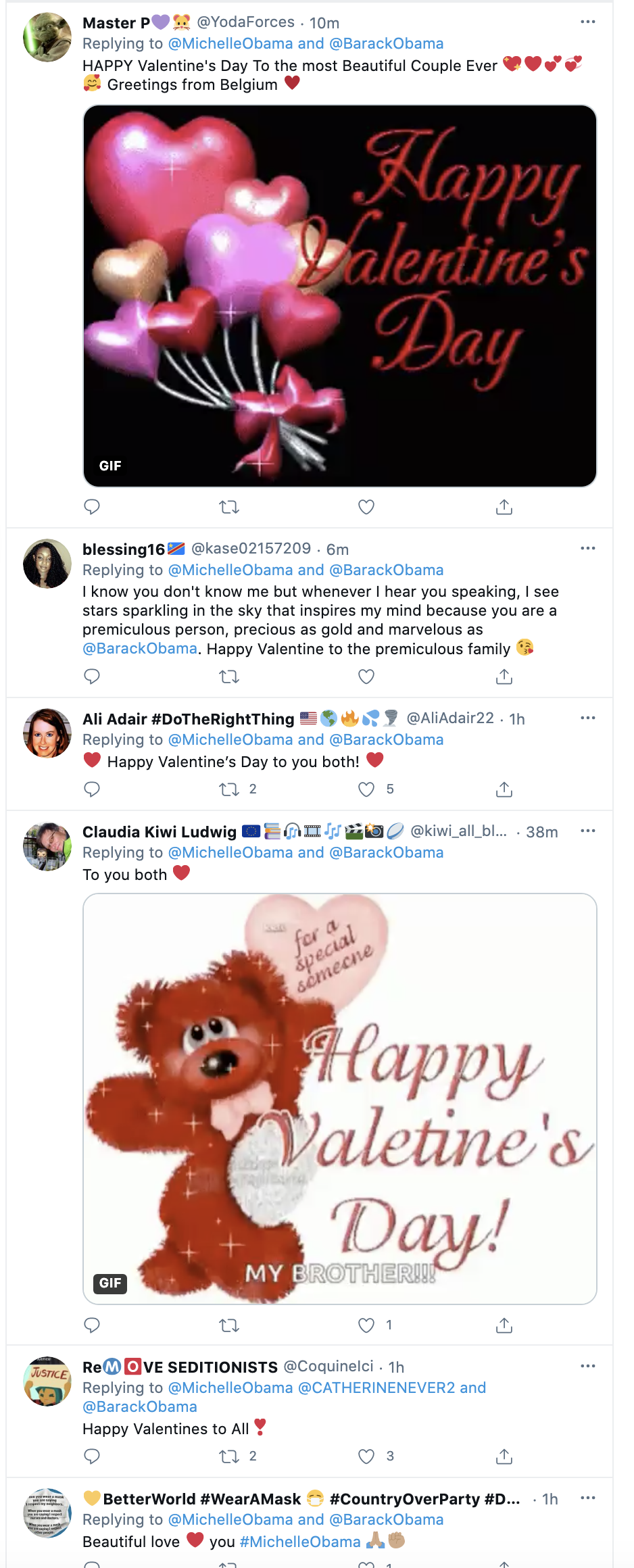 Screen-Shot-2021-02-14-at-9.23.21-AM Michelle Obama Sends Romantic Valentines Love Note To Barack Celebrities Featured Michelle Obama Politics Top Stories