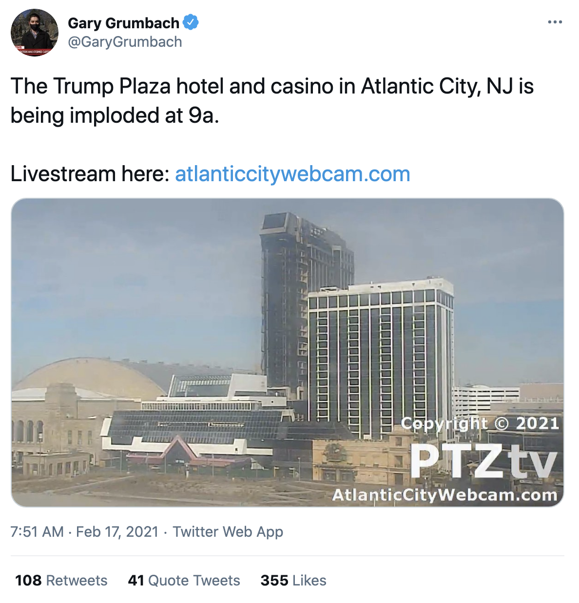 Screen-Shot-2021-02-17-at-8.57.20-AM Trump's Bankrupt Hotel And Casino Implodes Amid Cheers Corruption Donald Trump Featured Politics Top Stories