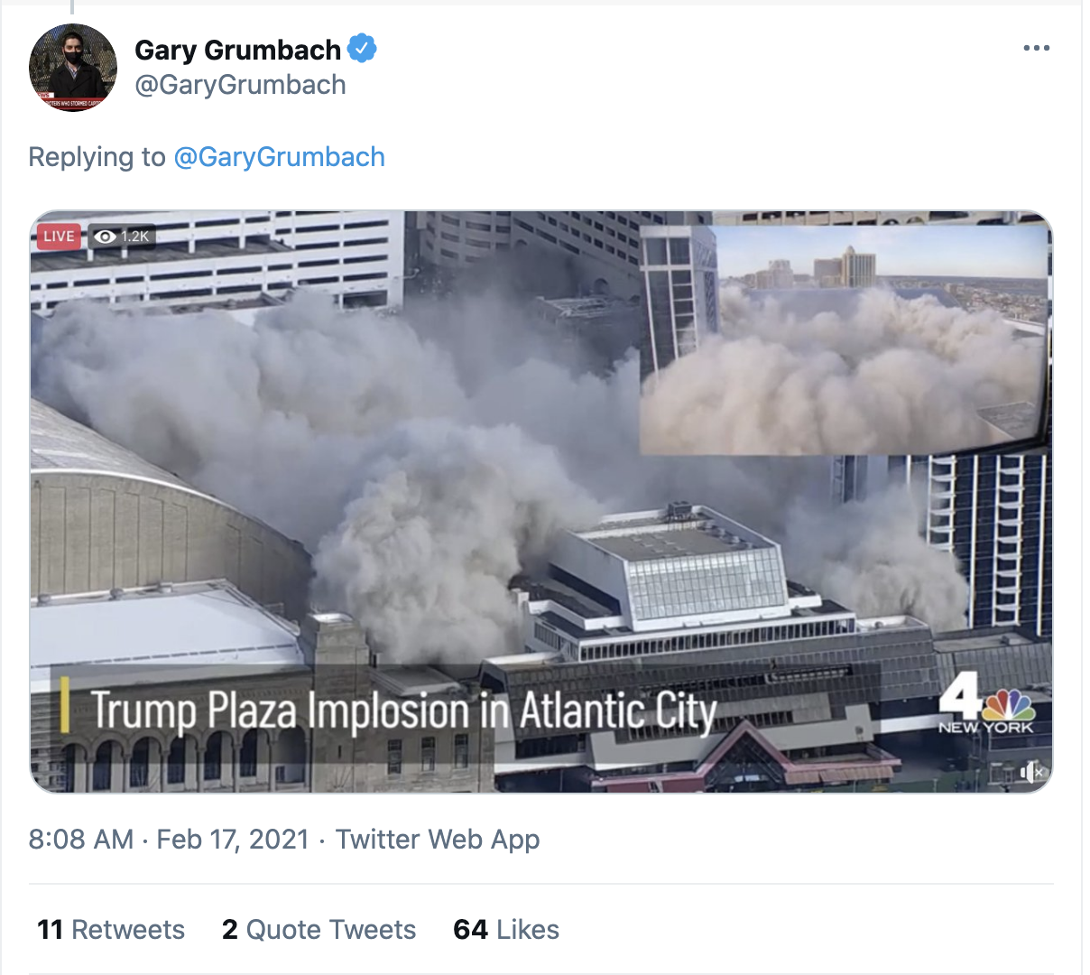Screen-Shot-2021-02-17-at-8.57.50-AM Trump's Bankrupt Hotel And Casino Implodes Amid Cheers Corruption Donald Trump Featured Politics Top Stories