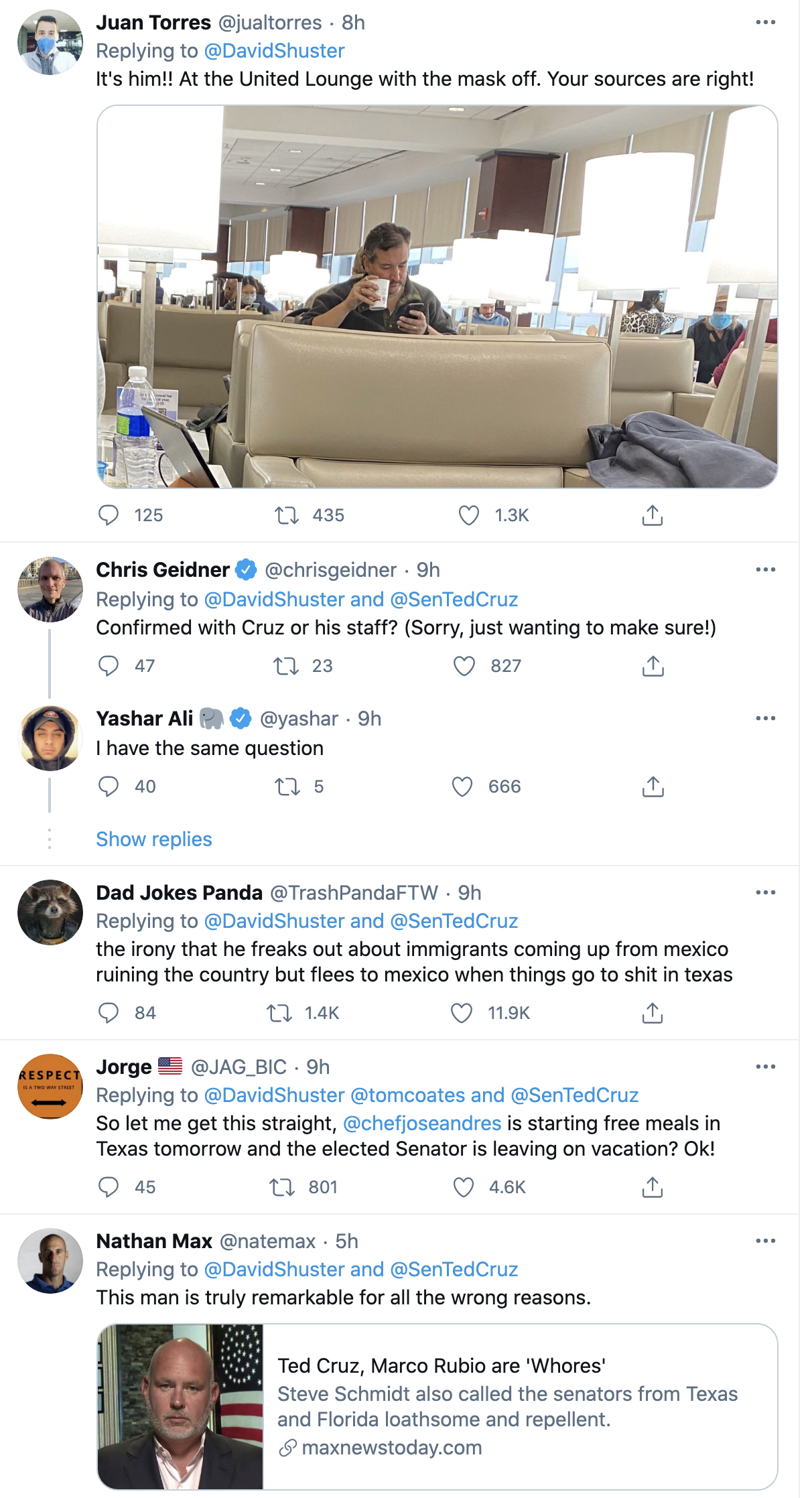 Screen-Shot-2021-02-18-at-8.52.05-AM Ted Cruz Sneaks Away to Cancun & Abandons Texans In Deadly Storm Corruption Domestic Policy Featured Politics Top Stories