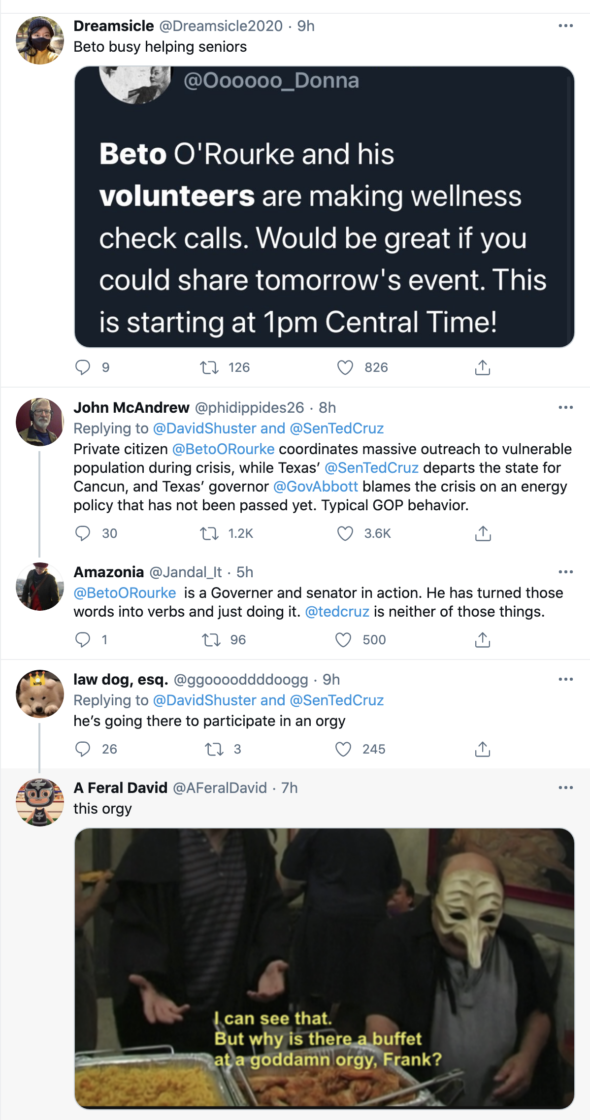 Screen-Shot-2021-02-18-at-8.52.52-AM Ted Cruz Sneaks Away to Cancun & Abandons Texans In Deadly Storm Corruption Domestic Policy Featured Politics Top Stories