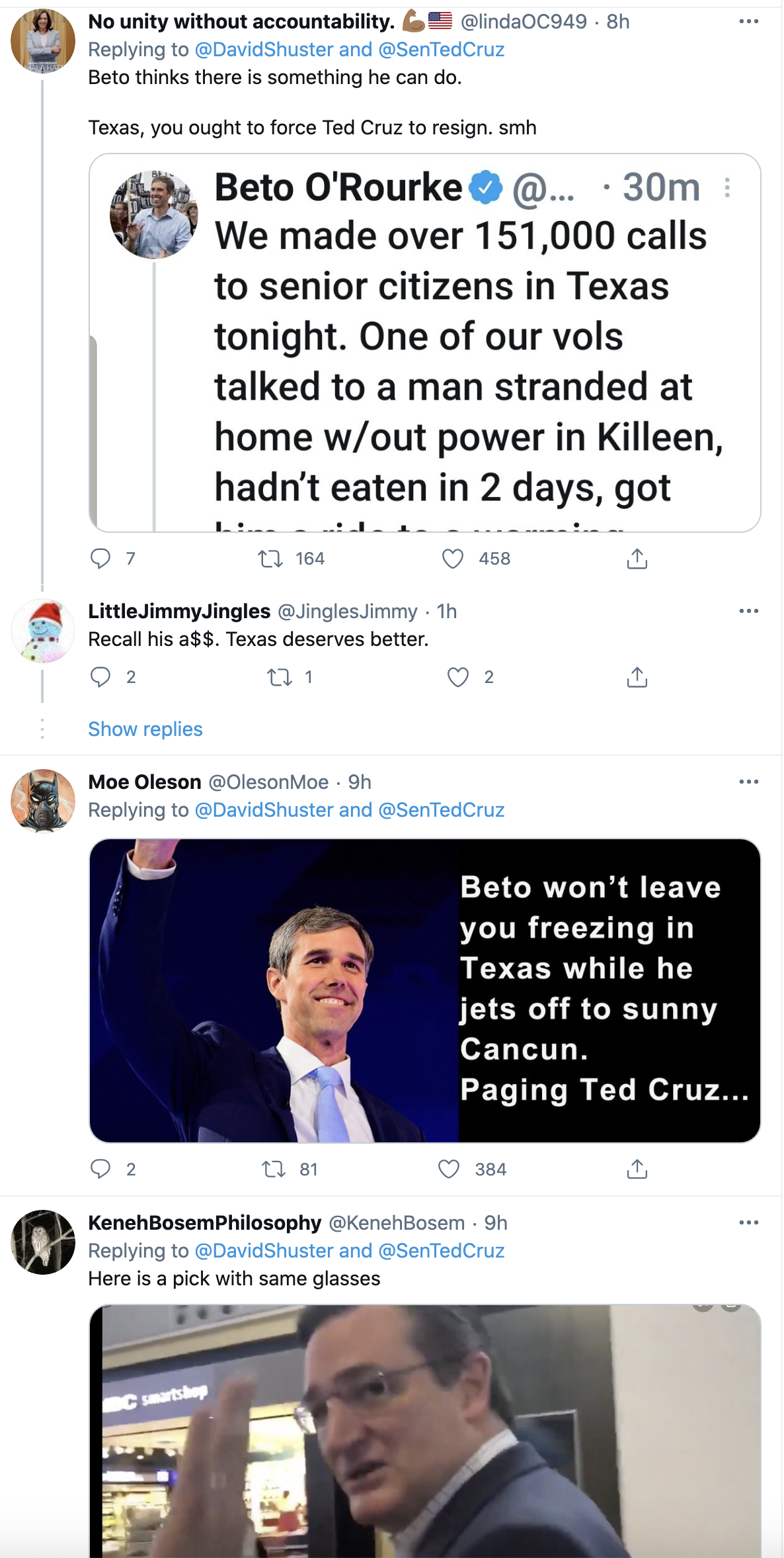 Screen-Shot-2021-02-18-at-8.55.51-AM Ted Cruz Sneaks Away to Cancun & Abandons Texans In Deadly Storm Corruption Domestic Policy Featured Politics Top Stories