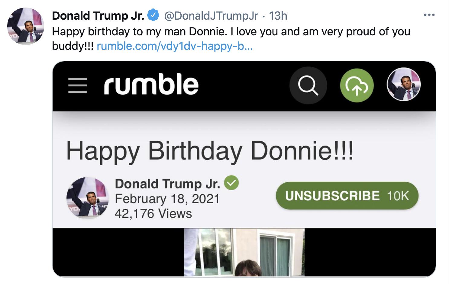 Screen-Shot-2021-02-19-at-8.43.22-AM Trump Jr Attempts To Defend 'Cancun Cruz' But Humiliates Himself Instead Corruption Crime Donald Trump Featured Politics Top Stories