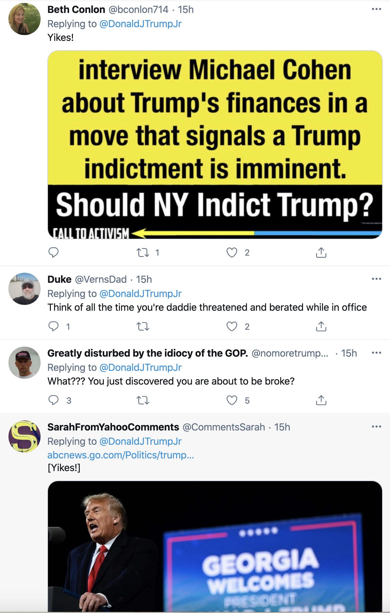Screen-Shot-2021-02-19-at-8.48.10-AM Trump Jr Attempts To Defend 'Cancun Cruz' But Humiliates Himself Instead Corruption Crime Donald Trump Featured Politics Top Stories