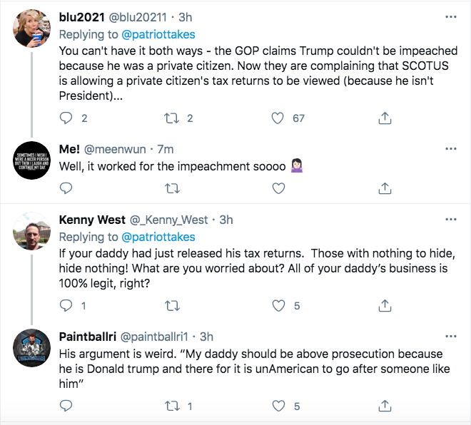 Screen-Shot-2021-02-22-at-5.18.19-PM Trump Jr Suffers A Sad Over Latest Supreme Court Defeats Conspiracy Theory Donald Trump Featured Politics Top Stories Videos
