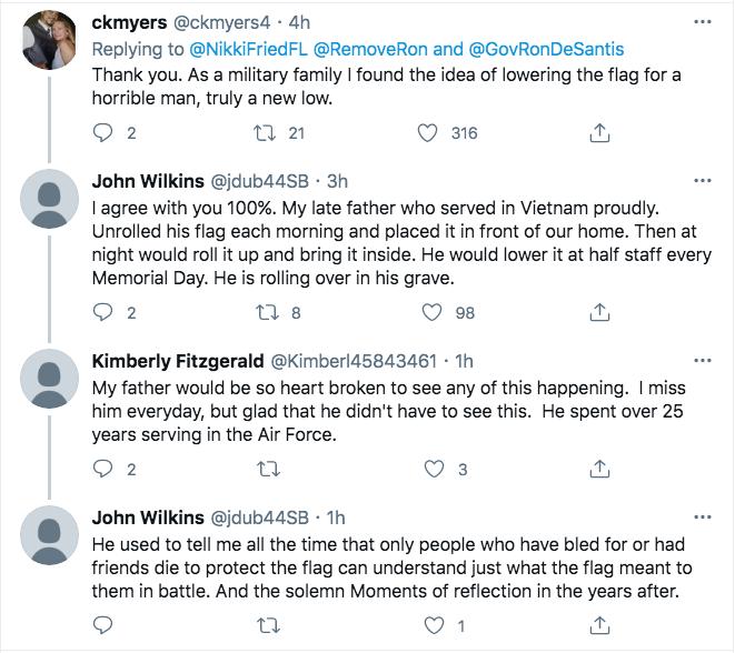 Screen-Shot-2021-02-22-at-5.41.52-PM Florida Thwarts Ron DeSantis Attempt To Honor Rush Limbaugh Donald Trump Featured Hate Speech Politics Top Stories Twitter