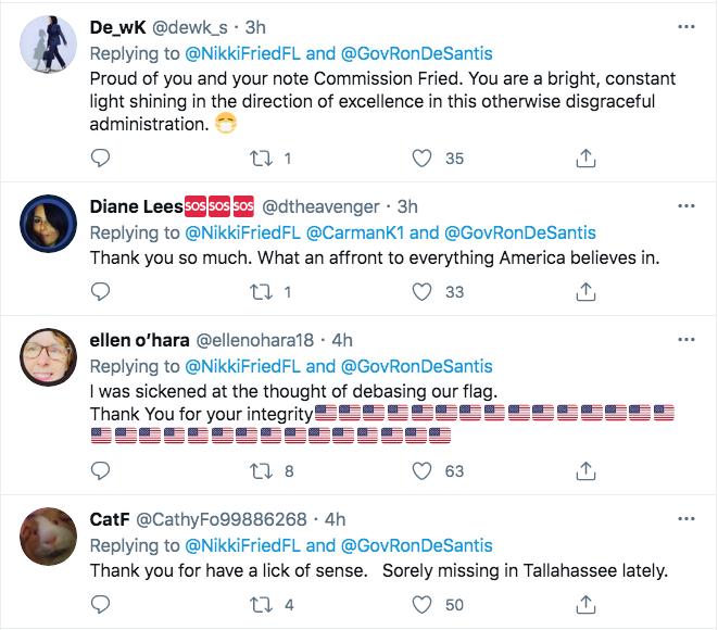 Screen-Shot-2021-02-22-at-5.42.41-PM Florida Thwarts Ron DeSantis Attempt To Honor Rush Limbaugh Donald Trump Featured Hate Speech Politics Top Stories Twitter