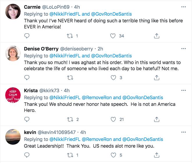 Screen-Shot-2021-02-22-at-5.42.53-PM Florida Thwarts Ron DeSantis Attempt To Honor Rush Limbaugh Donald Trump Featured Hate Speech Politics Top Stories Twitter